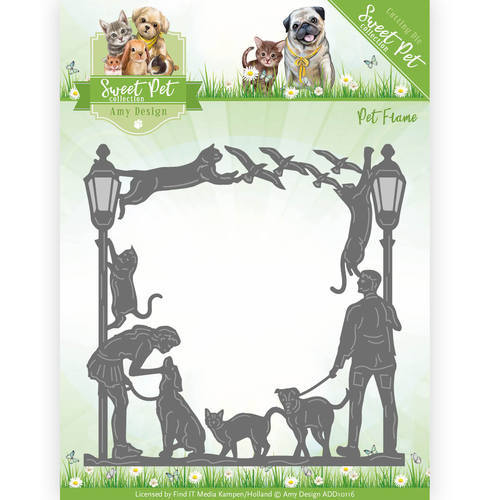 ADD10116 Die - Amy Design - Pets - Pet Frame