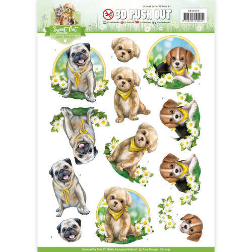 SB10195 Pushout - Amy Design - Pets-Dogs