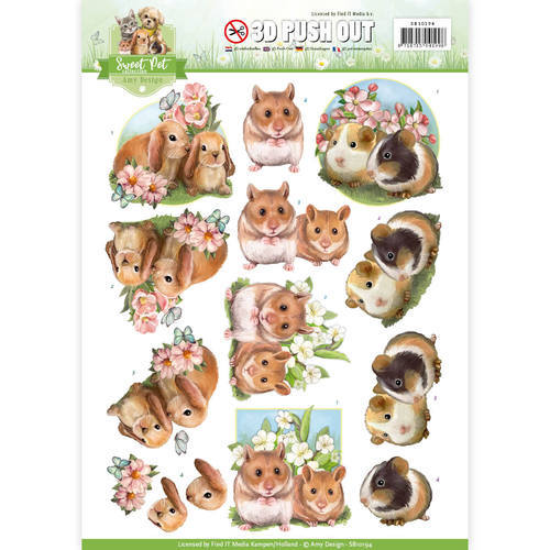 SB10194 Pushout - Amy Design - Pets-Rodents