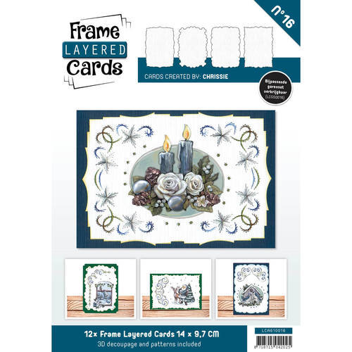 LCA610016 Layered Frame Cards - C6