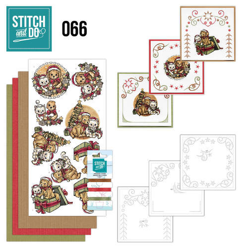 STDO066 Stitch and Do 66 - Christmas Animals