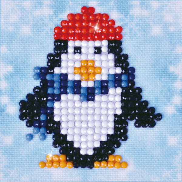 DDS.016 Diamond Dotz - 7,6x7,6cm - Penguin Waddle