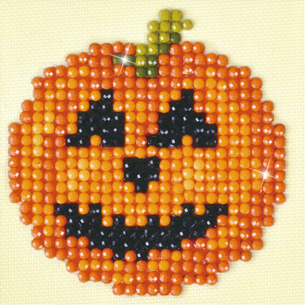 DDS.024 Diamond Dotz® - 7,6x7,6cm - Happy Halloween