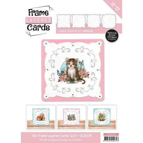 LC4K10017 Frame Layered Cards 17- 4K