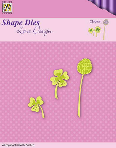SDL048 Lene Dies flowers & leaves clovers