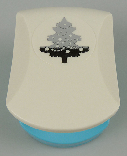 EBPL004 Embossing punch lmedium Christmas tree