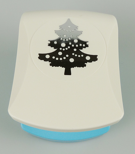 EBPL008 Embossing punch Large Christmas tree
