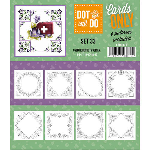 CODO033 Dot & Do - Cards Only - Set 33