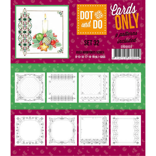 CODO032 Dot & Do - Cards Only - Set 32