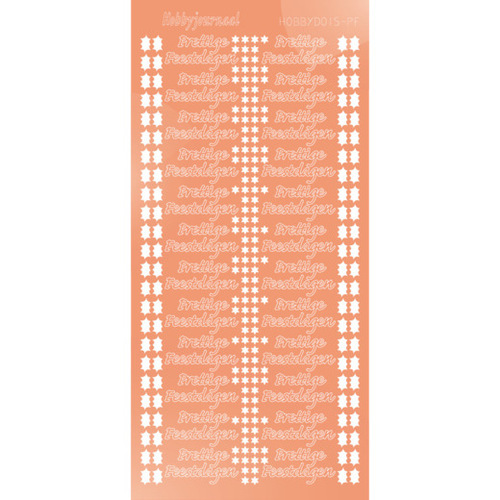 STDMPFK Hobbydots sticker - Mirror - Salmon
