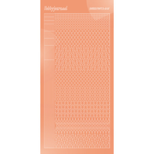STDM15K Hobbydots sticker - Mirror - Salmon