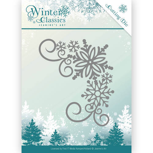 JAD10026 Die - Jeanine's Art - Christmas Classics - Winter oval