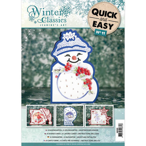 QAE10011 Quick and Easy 011 - Jeanine's Art Winter Classics