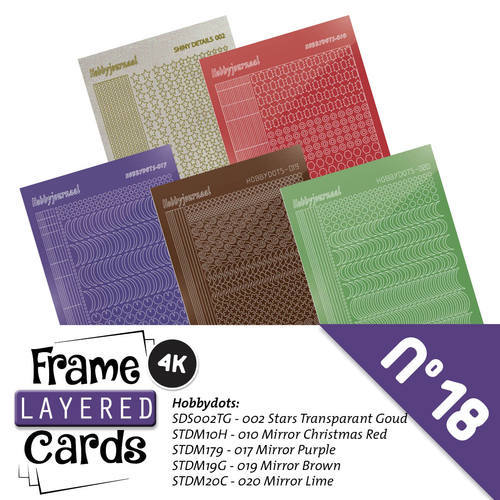 LCST018 Frame Layered Cards 18 - 4K - Stickerset