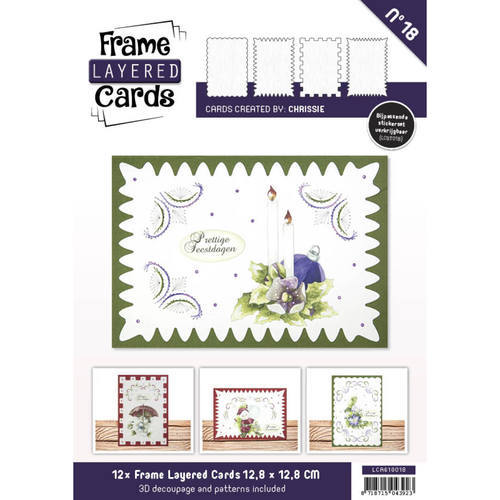 LCA610018 Frame Layered Cards 18 - A6