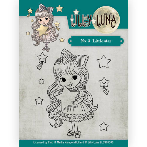 LLCS10003 Clearstamp -Lilly Luna - 3 Little Star