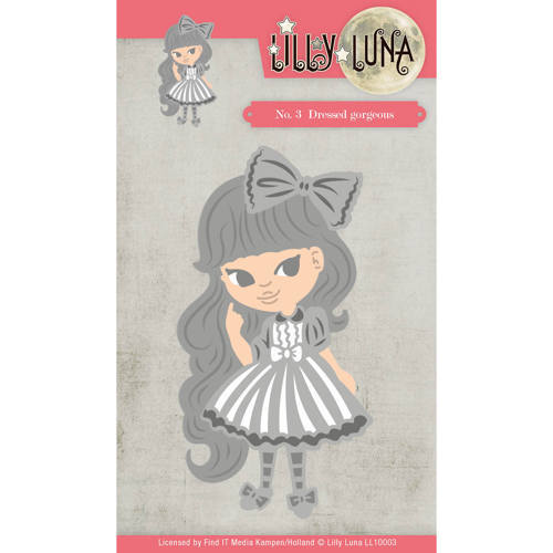 LL10003 Die - Lilly Luna - Dressed Gorjeous