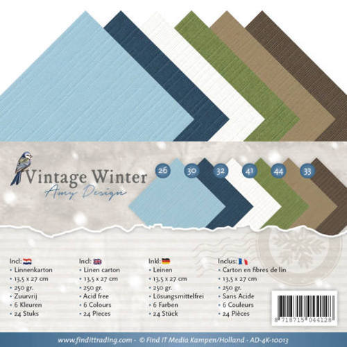 AD-4K-10013 Linnenpakket - 4K - Amy Design - Vintage Winter