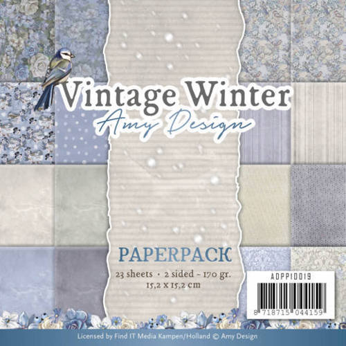 ADPP10019 Paperpack - Amy Design - Vintage Winter