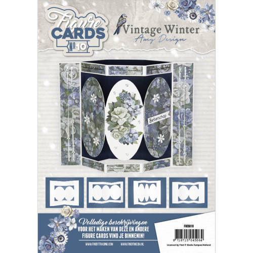 FGCS010 Figure Cards 10 - Amy Design - Vintage Winter