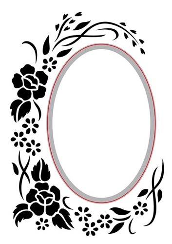 HSEFD002 Hobby Solution Emb.& Die Cut oval-floral