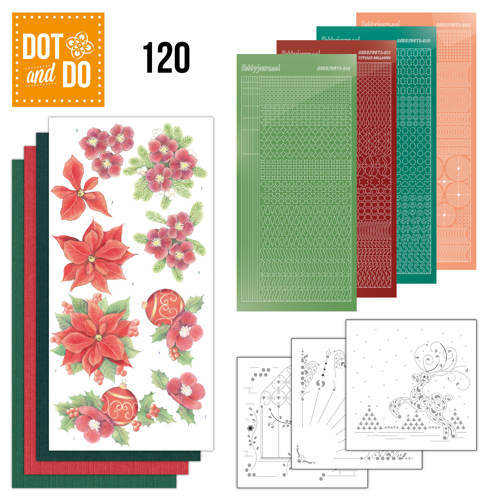 DODO120 Dot and Do 120 - Jeanine's Art - Kerstbloemen