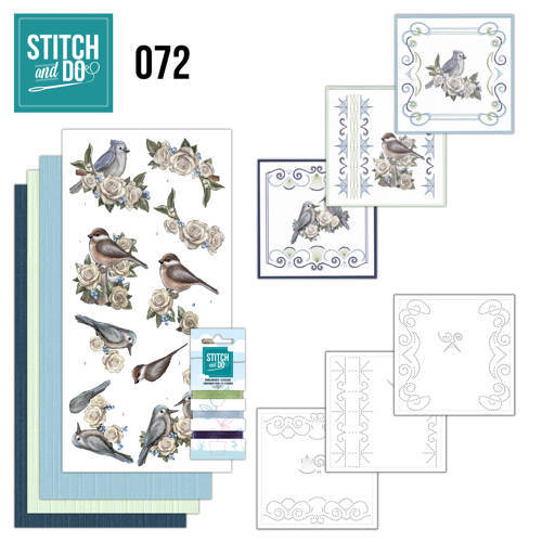 STDO072 Stitch and Do 72 AD Vintage Winter