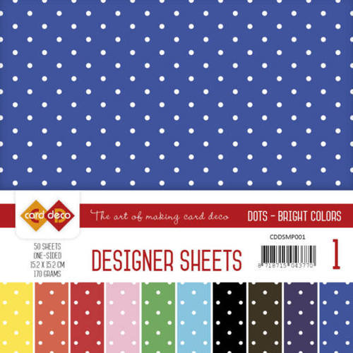 CDDSMP001 Designer Sheets Mega Pack 1 Bright Colors