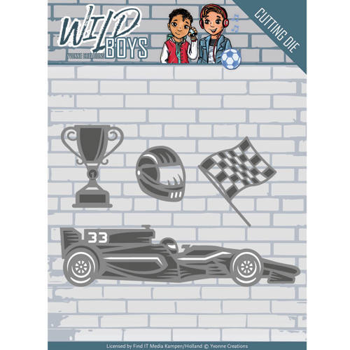 YCD10117 Die - Yvonne Creations - Wild Boys - Racing
