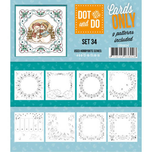 CODO034 Dot & Do - Cards Only - Set 34
