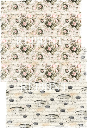 RP0208 Flowers for you Collection scrap dubbelzijdig 200gr Big Roses