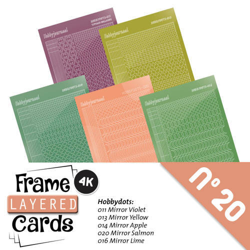 LCST020 Frame Layered Cards 20 - Stickerset