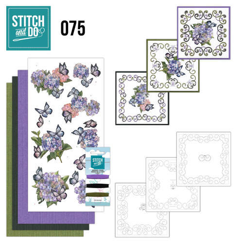 STDO075 Stitch and Do 75 Amy Design - Hortensia