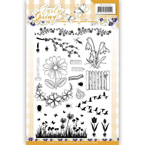 PMCS10023 Clearstamp - Precious Marieke - Early Spring