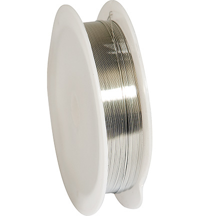 12270-7001 Silver-plated Copper Wire, 0.4mm x15m, reel