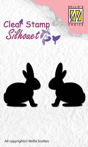 SIL030 Clear Stamps silhouette Hare