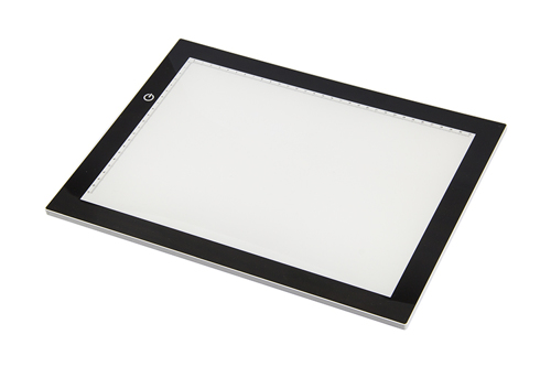 LED001 LED, ultra thin Light table (3 different adjustable brightness levels)