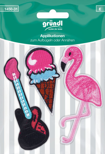 1450-31 (E) Applicatie IJs+Gitaar+Flamingo