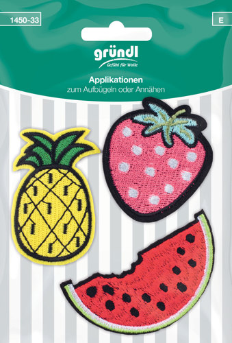 1450-33 (E) Applicatie Aardbei+Ananas+Watermeloen