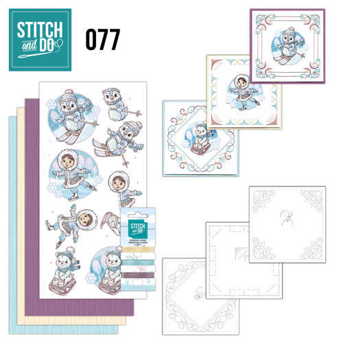 STDO077 Stitch and Do 77 - Yvonne Creations winterpret