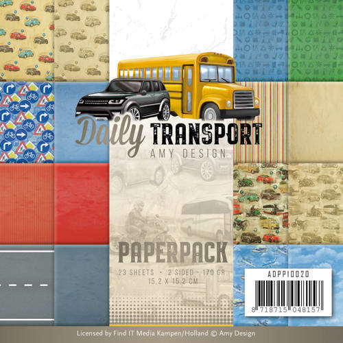 ADPP10020 Paperpack - Amy Design - Daily Transport