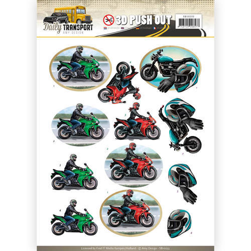 SB10233 Pushout - Amy Design - Daily Transport - Motor Cycling