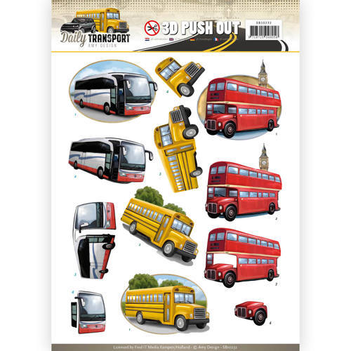 SB10232 Pushout - Amy Design - Daily Transport - By Bus