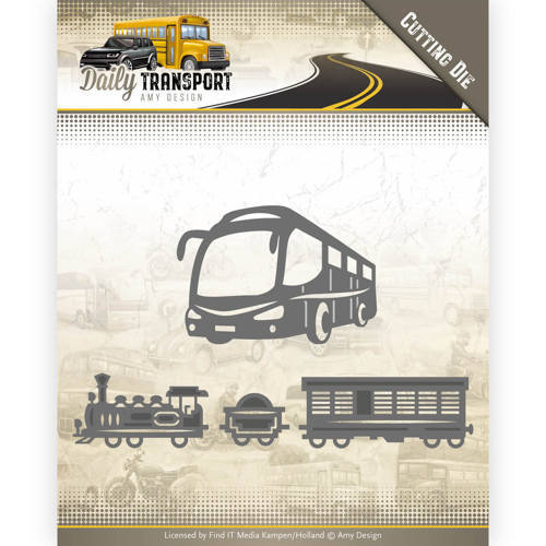 ADD10131 Dies - Amy Design - Daily Transport - Public Transport