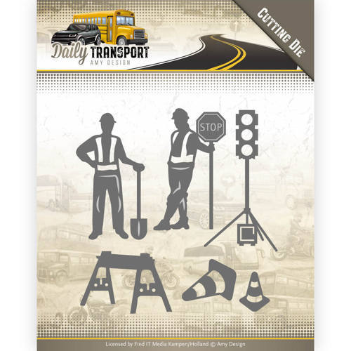 ADD10130 Dies - Amy Design - Daily Transport - Road Construction