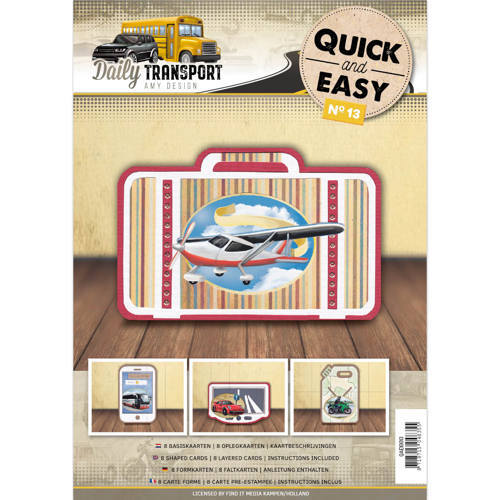 QAE10013 Quick and Easy 13- Amy Design - Daily Transport