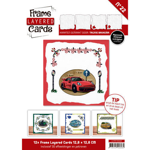 LC4K10022 Frame Layered Cards 22 - 4K Daily Transport