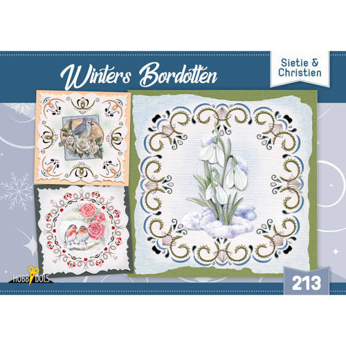 HD213 Hobbydols 213 Winters Bordotten - Sietie en Christien