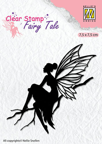 FTCS006 Clear stamps silhouette Fairy Tale-6
