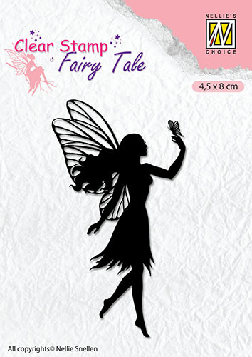 FTCS008 Clear stamps silhouette Fairy Tale-8